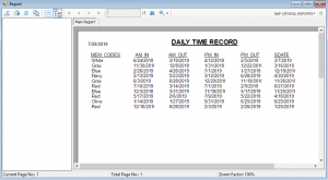 Biometric Attendance Management System software source code